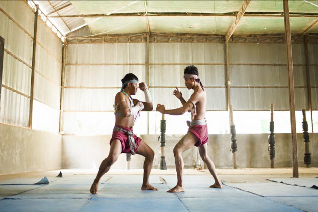Martial Art Bokator cambodian art forms