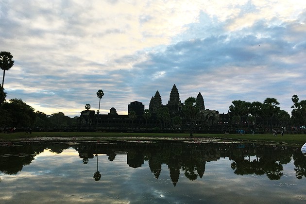 World Heritage Angkor Wat at Dawn