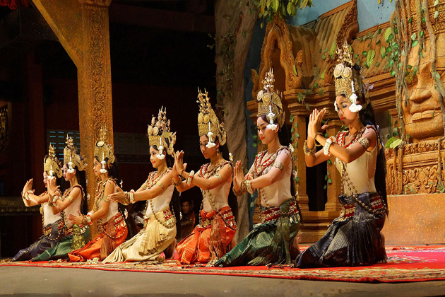 apsara dance cambodian traditional art
