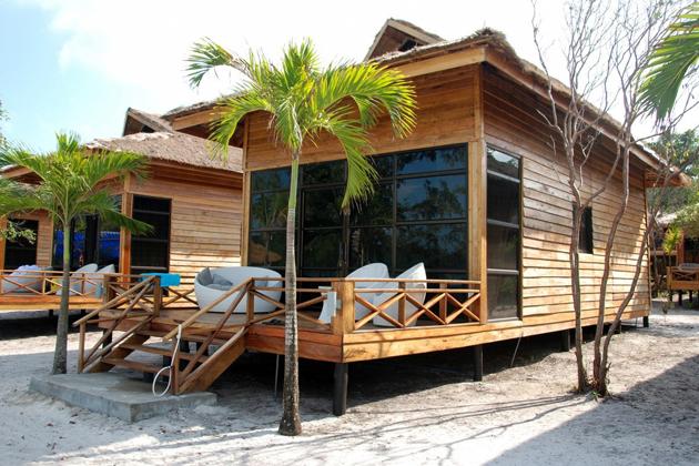 Hotels & Resorts on Koh Rong Samloem Cambodia tours
