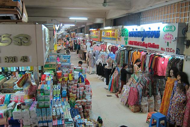 Olympic Market Phnom Penh