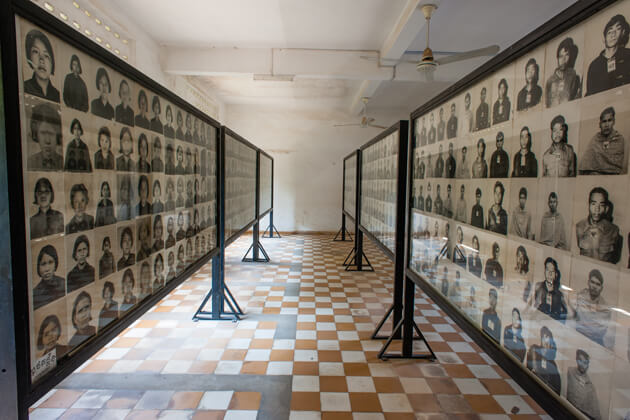Toul Sleng Genocide Museum, Tour to Cambodia