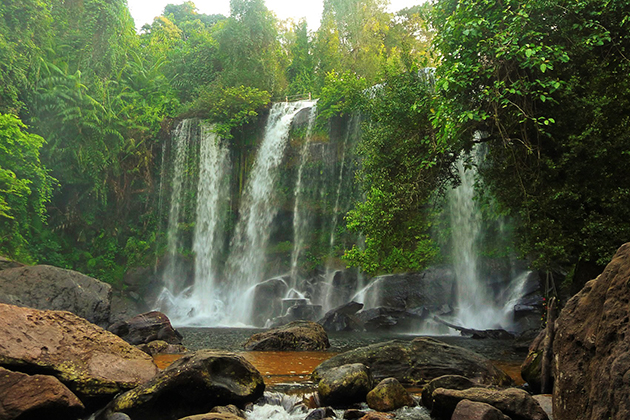 Waterfall in Kulen Mountain