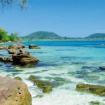 Beautiful beach at Sihanoukville, Cambodia beach tours
