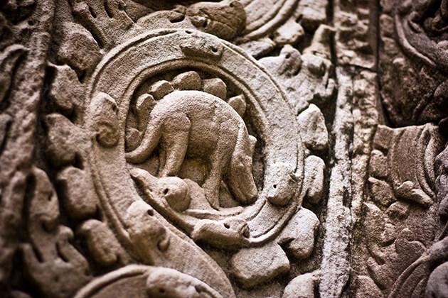 Khmer Angkor Dinosaur, Cambodia Vacation