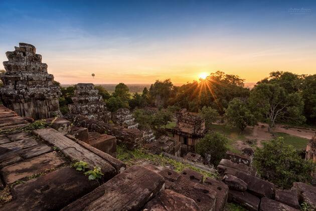 Phnom Bakheng Hills, Cambodia Vacations