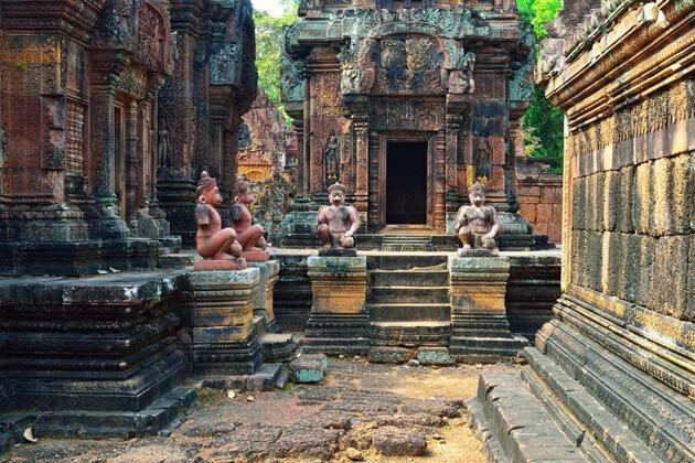 Ta Prohm Temples, Cambodia Tours