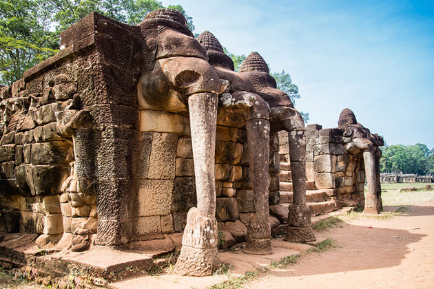 terrace of the elephants, Cambodia tour days trips