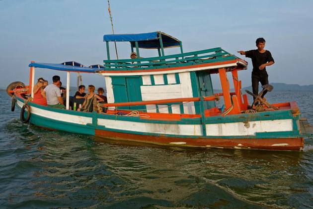 fising trip boat rabbit island