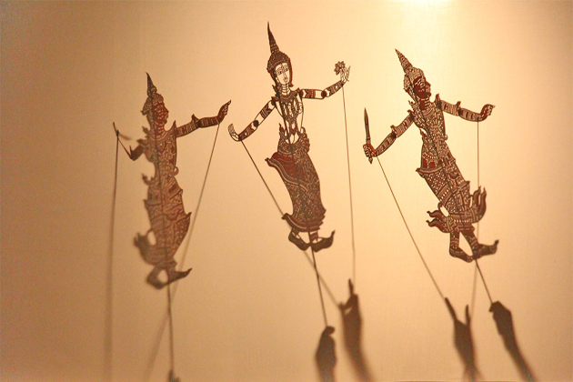 Cambodian Shadow Puppet cambodian traditional dances