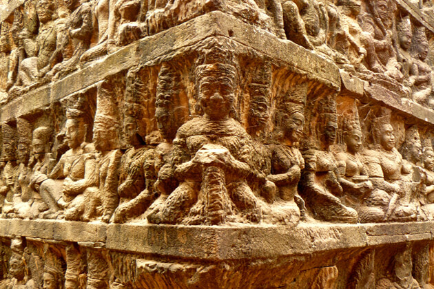Terrace of King Leper, Cambodia Packages