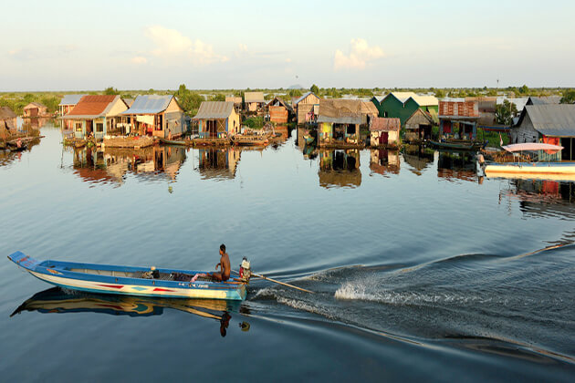 Tonle Sap Lake, Tour in Cambodia