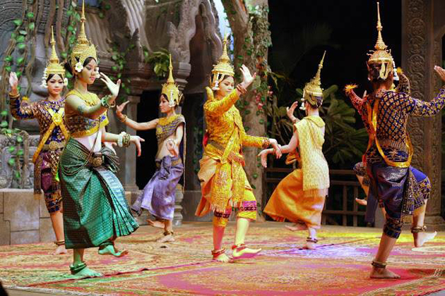 aspara dance cambodian traditional dances