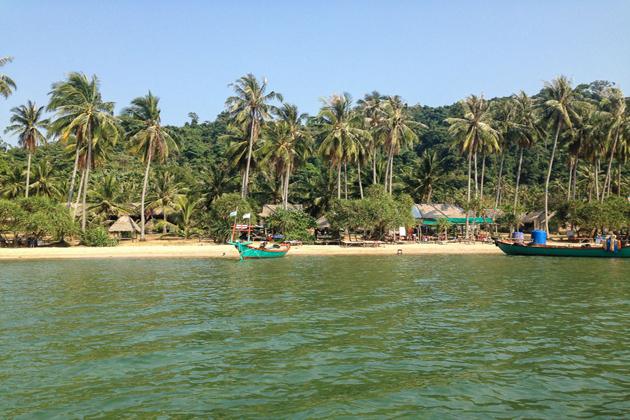 kampot beach