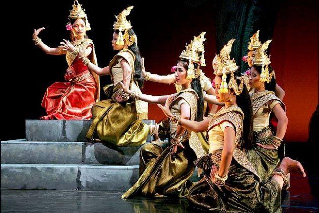 cambodia folk dance