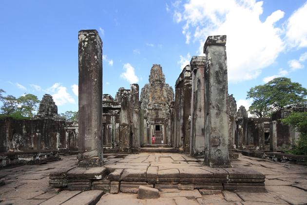history of bayon temple