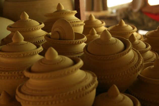 Khmer Pottery - Trip to Cambodia