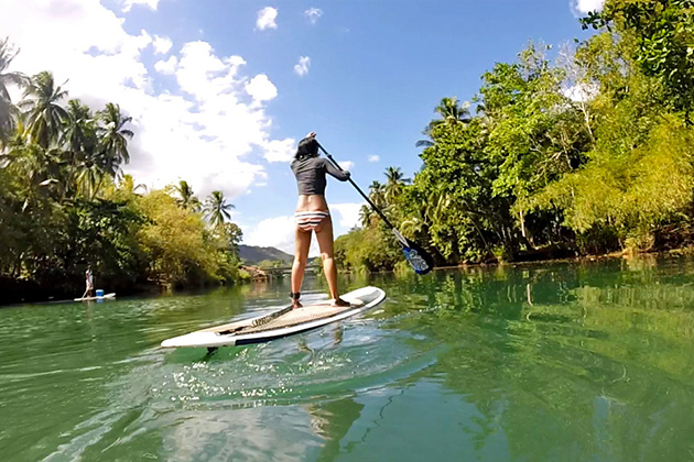 Expect from stand up paddleboarding