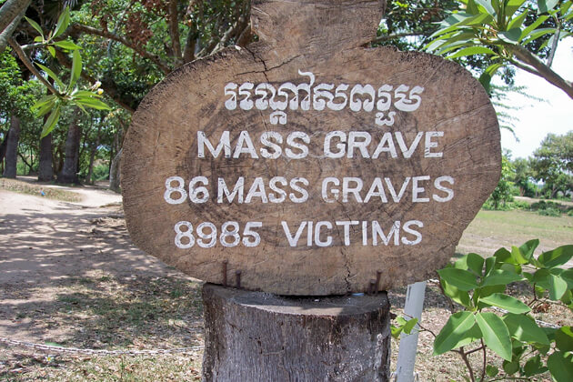 Killing fields, Phnom Penh itinerary