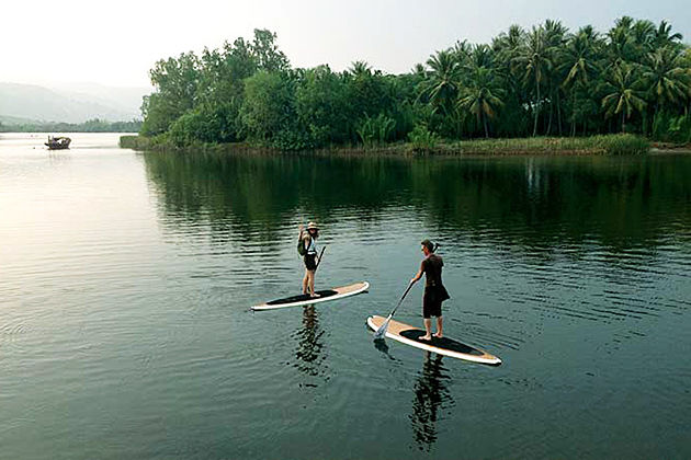 Stand up Paddle Boarding in Cambodia
