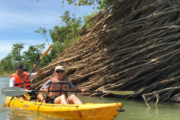 Stung Treng kayaking