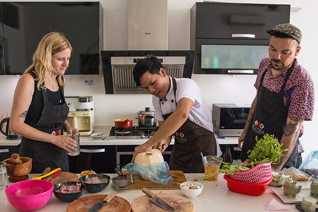 Veasna in the Kitchen - a Highlight of Khmer Cuisine Cambodia