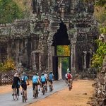 Cycling tour in Angkor Wat