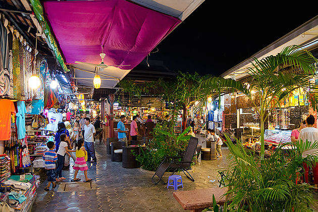 siem Reap Night market, Siem Reap Tours