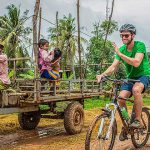 Cambodia cycling tour to Siem Reap