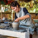 Kampong Chhnang pottery cambodia family adventure tour