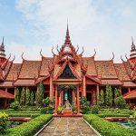 Phnom Penh National Museum, Cambodia tour packages