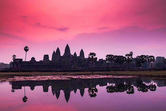 Angkor wat sunrise, Adventure tour in Cambodia