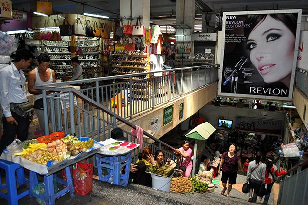Orussey Market in Phnom Penh