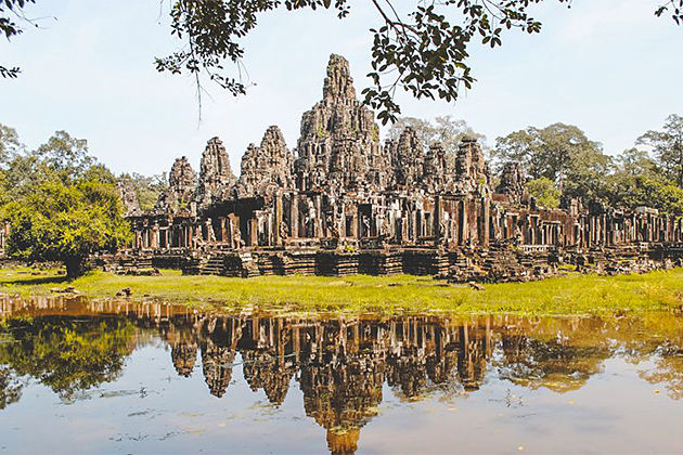 Angkor Wat Complex, local tour in Cambodia