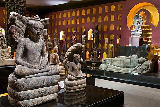 Angkorian Artifacts at the Angkor National Museum