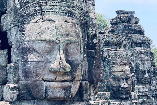 buddha at Anhkor Wat, Cambodia tours