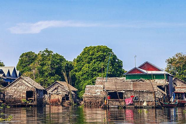 Tonle Sap Lake Floating Village - Must do things in siem reap