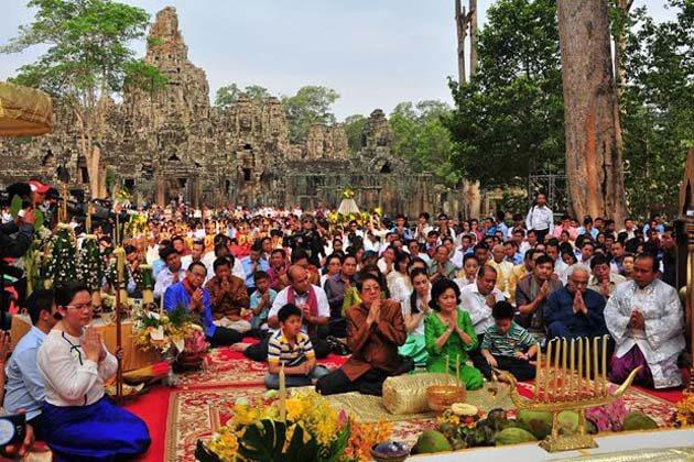 Cambodia new year, Cambodia vacation