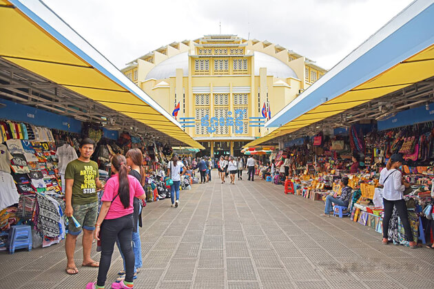 Traditional Market, Phnom Penh tour day trips