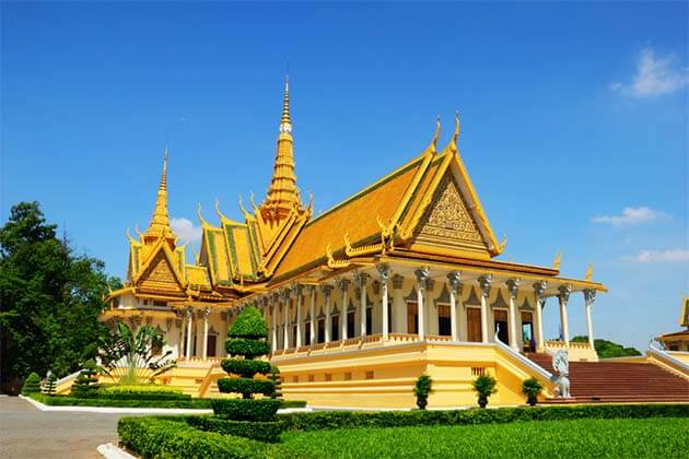 Royal Palace in Cambodia, Cambodia tours
