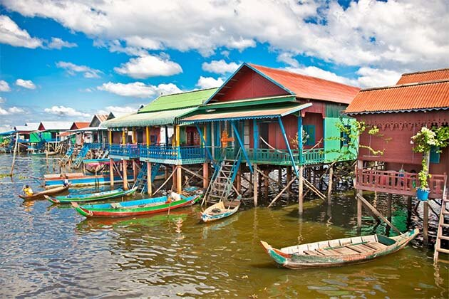 Tonle Sap, Cambodia vacation