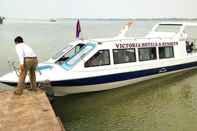 boat in Cambodia, Cambodia tour