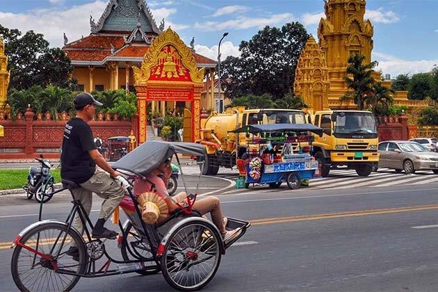 cyclo in Cambodia, Trips in Cambodia