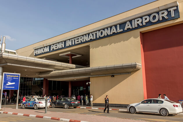 Phnom Penh International airport, Phnom Penh Tours