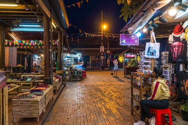 the old market in sihanoukville, Vacation in Cambodia