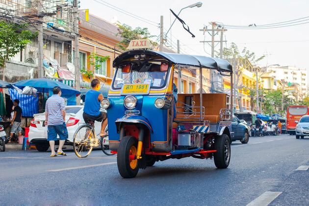 tuk tuk, Phnom Penh Tour