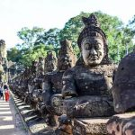 Angkor Thom, Cambodia local tour