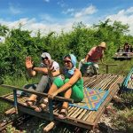 Bamboo train, Cambodia tour trips