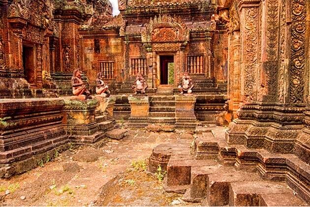 Banteay Srei, Cambodia Thailand trips
