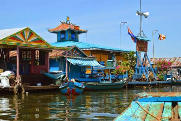 Kampong Luong village, Cambodia trips